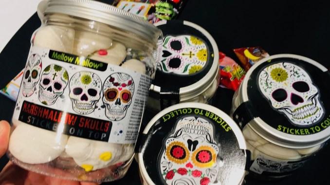 Tri D'Aix GmbH Mellow Mellow Marshmallow Skulls Sticker Totenköpfe Profachhandel Nürnberg 2019