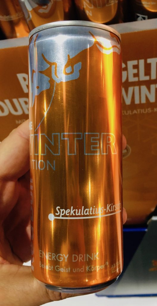 Red Bull Winteredition Spekulatius-Kirsch Energy Drink