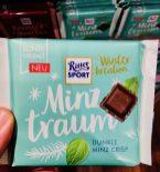 Ritter Sport Minztraum Winteredition Dunkle Minz-Crisp