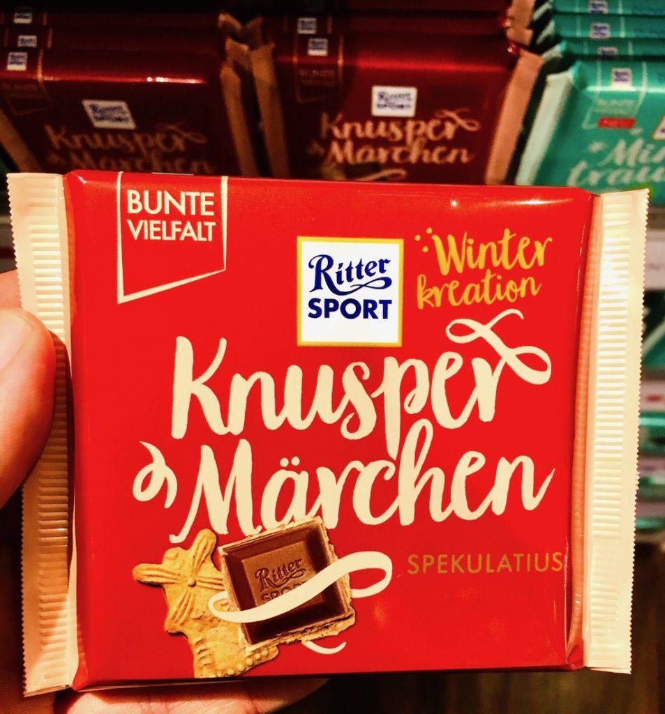 Ritter Sport Winteredition Knuspermärchen Spekulatius