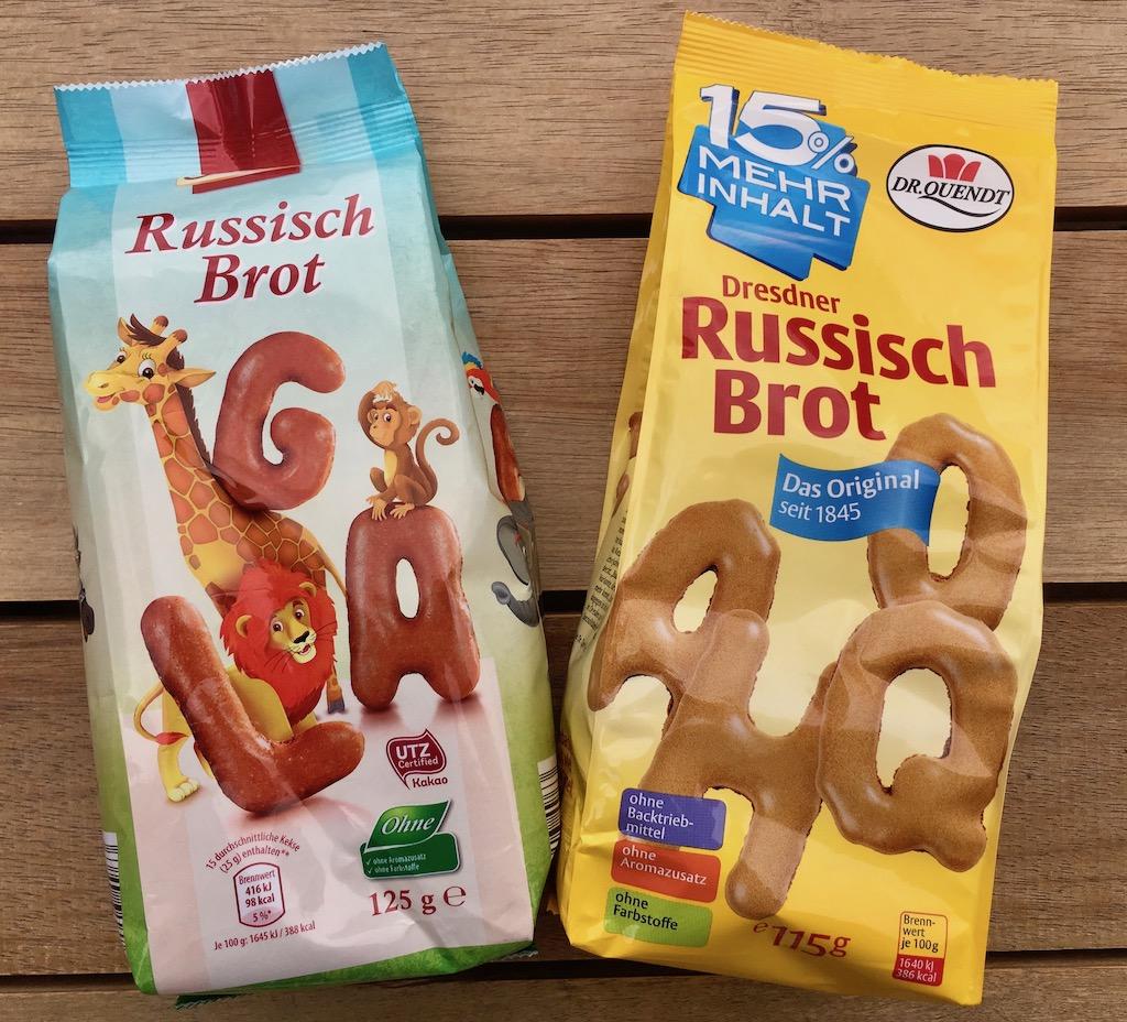 Russisch Brot von Dr. Quendt und Lidl