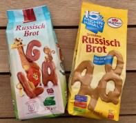 Russisch Brot von Dr Quendt und Lidl