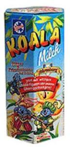 Alte Packung mit Koala Milch von Schöller.