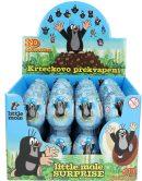 Der Kleine Maulwurf Display mit Überraschungs-Schoko-Eiern