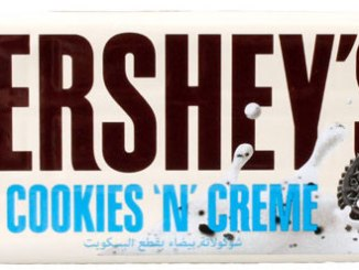 hershey cookies n creme 4x40g