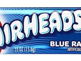 Airheads Blue Raspberry Kaubonbon