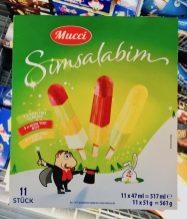 Aldi Mucci Simsalabim 11 Eis am Stil Sorbet