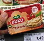 Arla Buko Frischkäse Typ Toskana