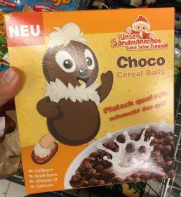 Choco Cereal Balls Unser Sandmännchen Pittiplatsch