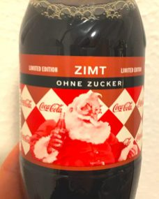 Coka Cola Coke Light Zimt Cinnamon Weihnachts-Edition 2019