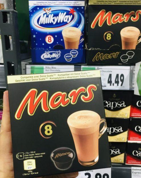 Dolce Gusto Mars 8 Kapseln