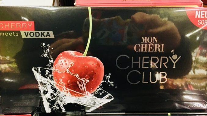 Ferrero Mon Cherri Cherry Club Cherry meets Vodka