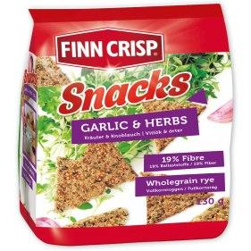 Finn Crisp Snacks Knoblauch+Kräuter