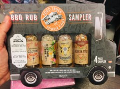 Food Truck Foodie Finds BBQ Rub Gewürze
