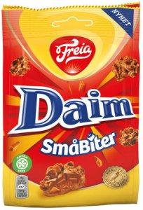 Freia Daim Småbiter Pieces norwegian-chocolate