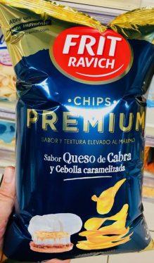 Frit Ravich Chips Premium Ziegenkäse und karamellisierte Zwiebel