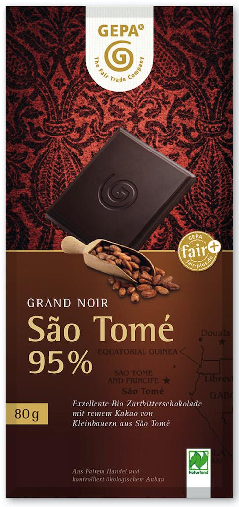 GEPA Schokolade Sao Tome 95%