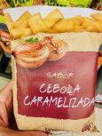 Hacendado Sabor Cebolla Caramelizada Kartoffelchips Karamelisierte Zwiebel