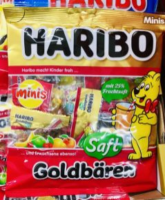 Haribo Saft-Goldbären Minis