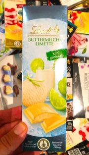 Lindt Buttermilch-Limette Schokolade