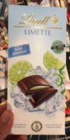 Lindt Tafelschokolade Limette