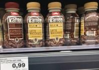 Müller Kaffee Extra stark Espresso Macchiato und Mild Latte Macchiato