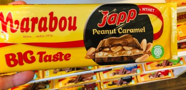 Marabou Big Taste JAPP Peanut Caramel