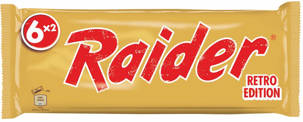 Mars_Wrigley_Confectionery_RAIDER RETRO 6er Pack