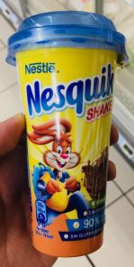 Nestle Nesquik Shake Kakaobecher to go