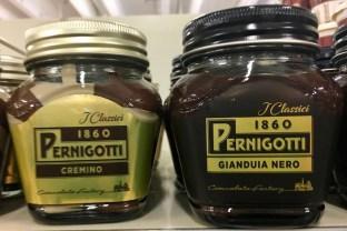 Pernigotti Cremino und Gianduia Nero Nougataufstrich Creme Italien 2019