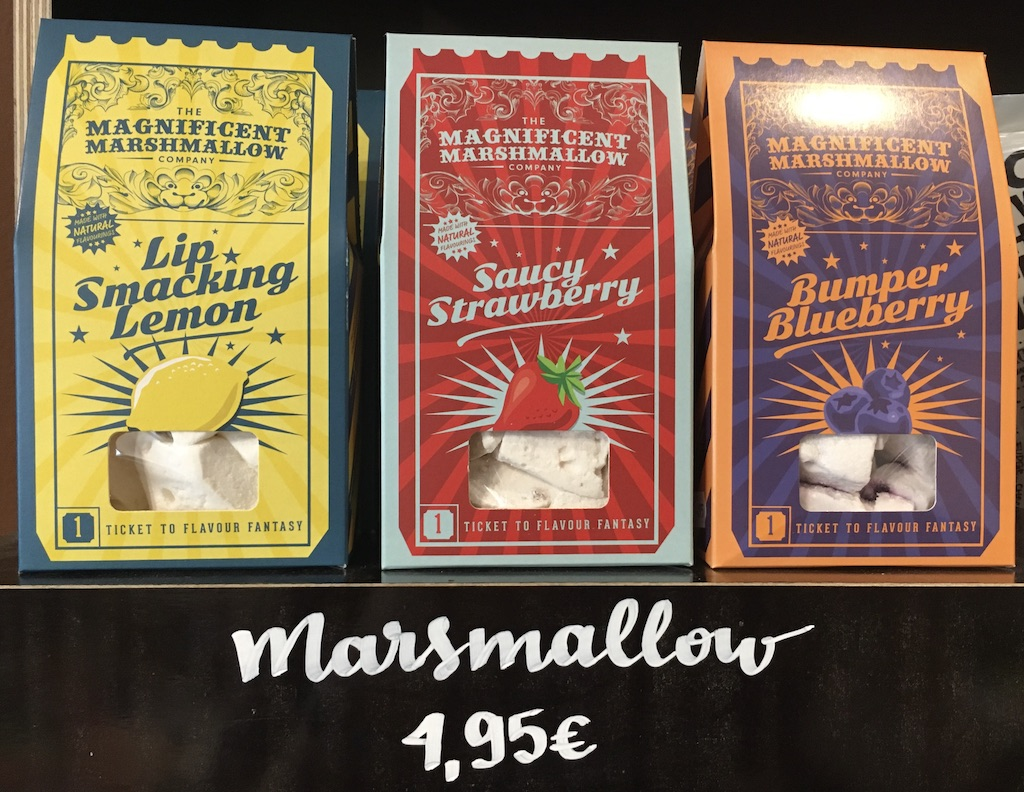 The Mangificent Marshmallow Factory Lip Smacking Lemon-Saucy Strawberry-Bumper Blueberry Docura