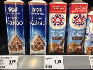 Weihenstephan Frischer Kakao Bärenmarke Der Frische Kakao Trinkfertiger Kakao to go