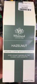 Whittard Chelsea Ground Coffee with Flavouring Hazelnut 200 Gramm