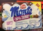 Zott Monte 30% weniger Zucker Pudding 330Gramm