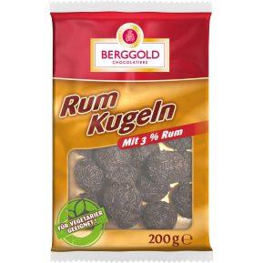 Berggold Rumkugeln mit 3% Rum (200 Gramm)