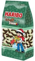 Haribo Schoko-Minz-Traum Saisonprodukt Adventszeit 2019