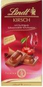 Mit Kirschwasser gefüllte Tafelschokolade von Lindt.