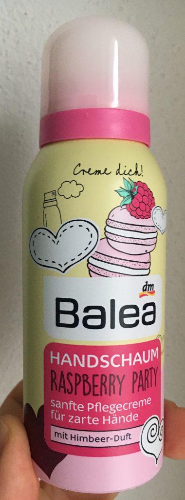 Balea Handschaum Raspberry Party Himbeerduft