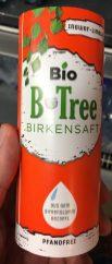 Bio B-Tree Birkensaft Ingwer-Limette Pappdose