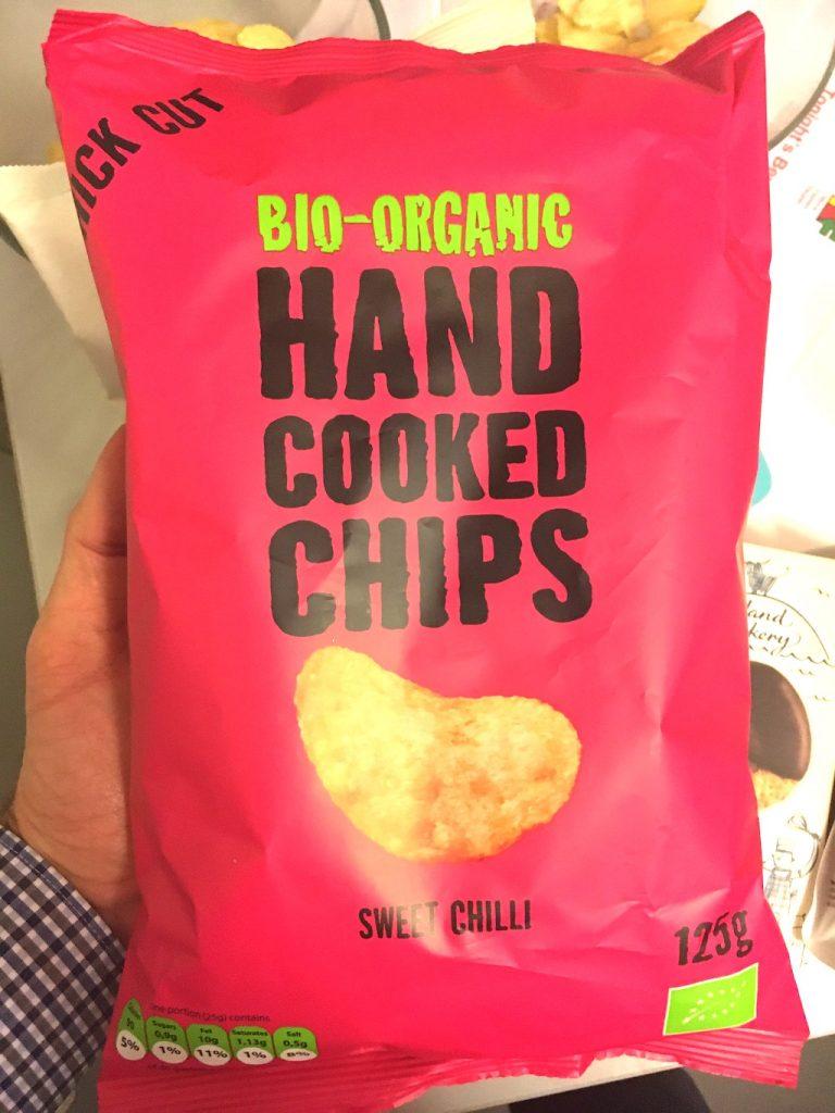 Bio-Organic Hand Cooked Chips Sweet Chili 125 Gramm