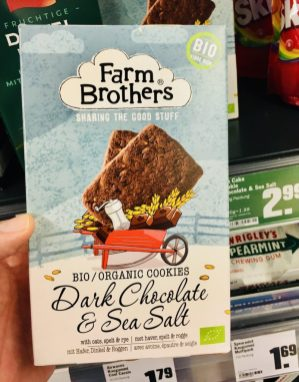 Farm Brothers Biokekse Dark Chocolate+Sea Salt