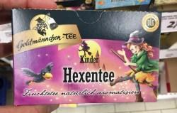 Goldmännchen-Tee Kinder Hexentee Früchtetee LG-prämiert