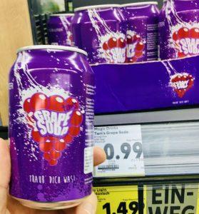 Grape Soda Traub Dich was