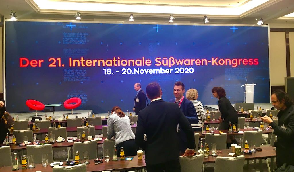 Abschlusshinweis auf 21. Internationaler Süßwaren-Kongress 2020