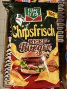 Intersnack funny-frisch Chipsfrisch Beefburger mit Fette Kuh-Restaurant