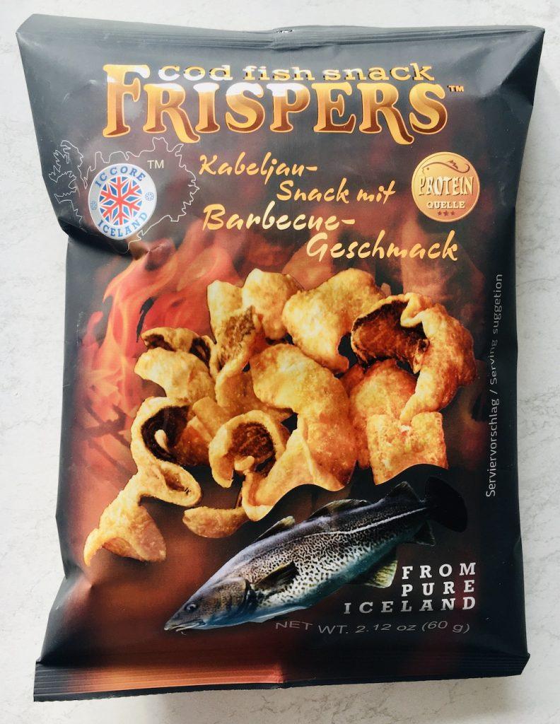 Island Frispers Kabeljau-Snack mit Barbecue-Geschmack