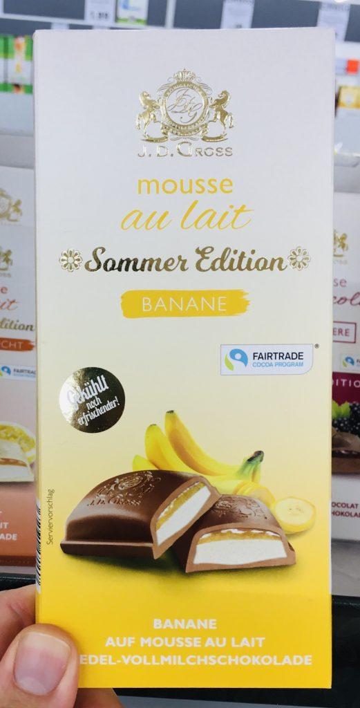 Lidl JD Gross Mousse au lait Sommer Edition Banane