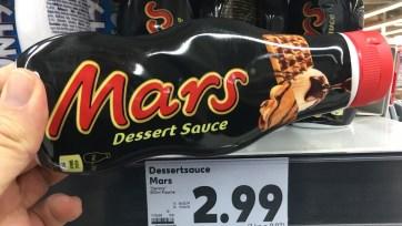 Mars Dessertsoße