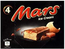 Mars Ice Cream 4er Packung
