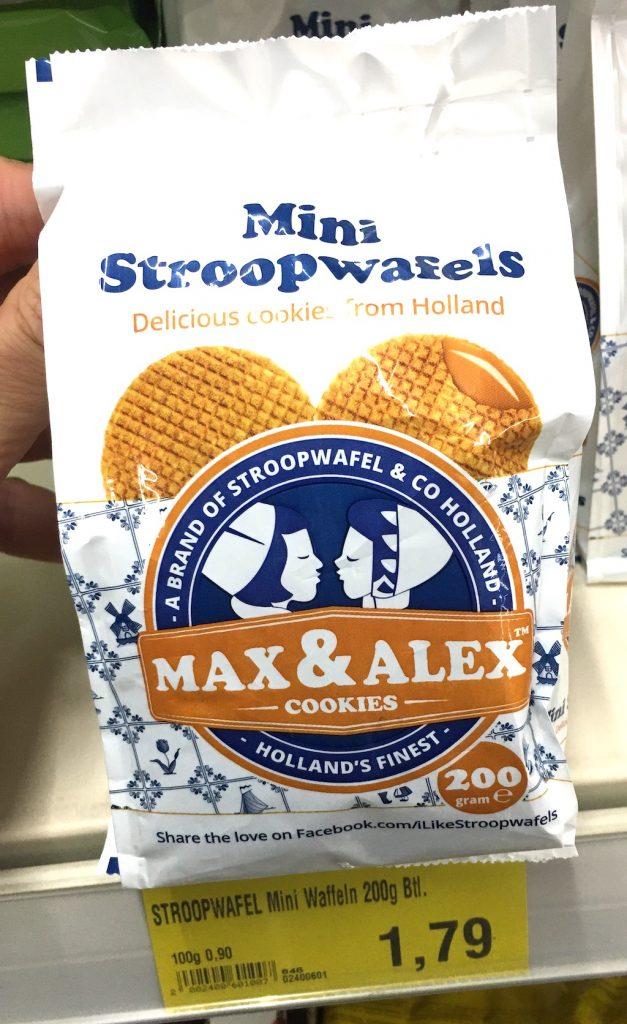 Mini StroopWafels Max+Alex Betel Waffeln